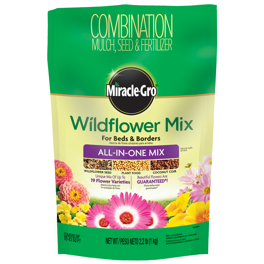 Miracle-Gro Wildflower All-in-1 Mix Flower Seed Packet