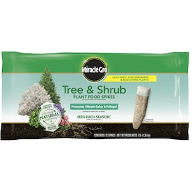 Miracle-Gro Tree and Shrub Plant Food Spikes Tree Food (15-5-10)