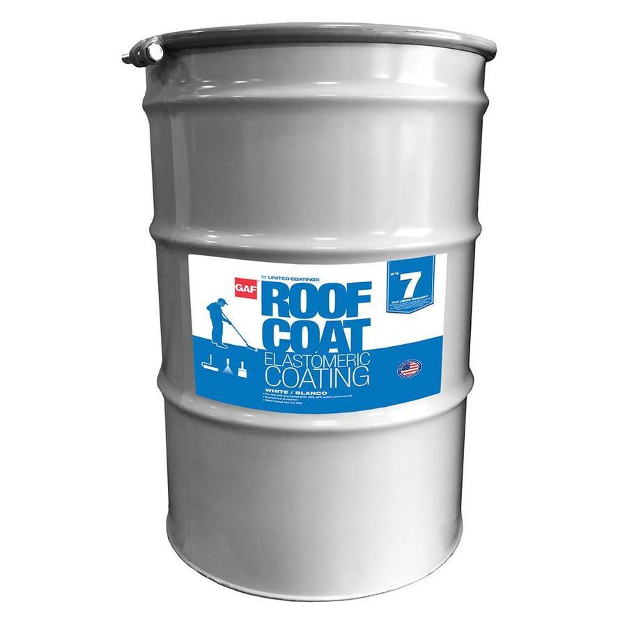 Gaf Coatings 54 Gallon Acrylic Reflective Roof Coating 20