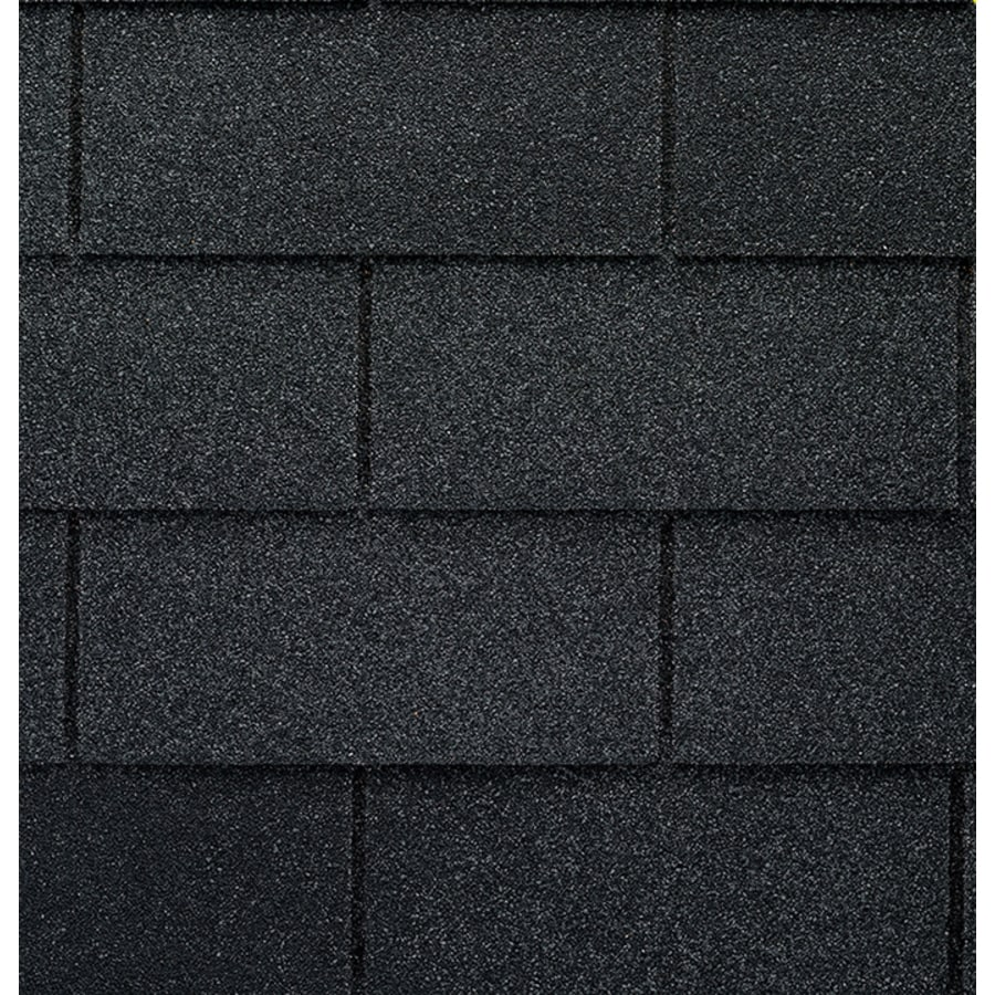 GAF ROYAL SOVEREIGN 33.33-sq ft Charcoal 3-Tab Roof Shingles