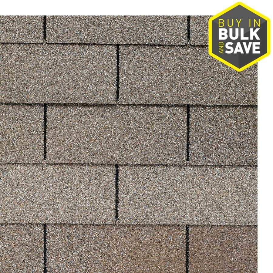 GAF Royal Sovereign 33.33-sq ft Sandrift Traditional 3-Tab Roof Shingles