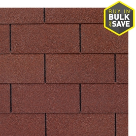 Gaf Royal Sovereign 33 Sq Ft Russet Red 3 Tab Roof Shingles