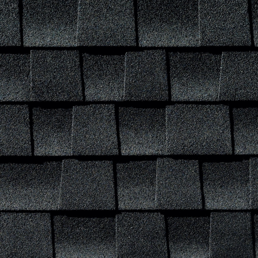GAF Timberline Armorshield 33.33-sq ft Charcoal Laminated Architectural Roof Shingles