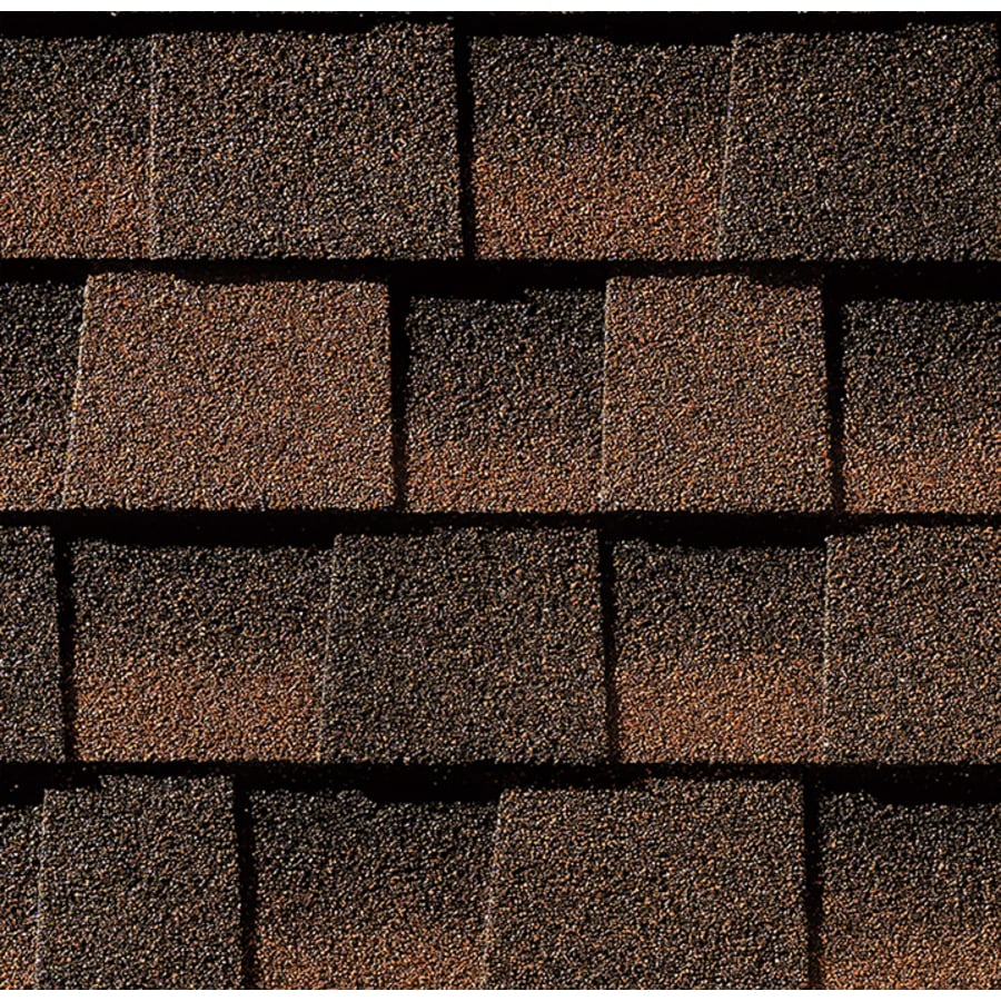 GAF Timberline HD 33.33-sq ft Hickory Laminated Architectural Roof Shingles