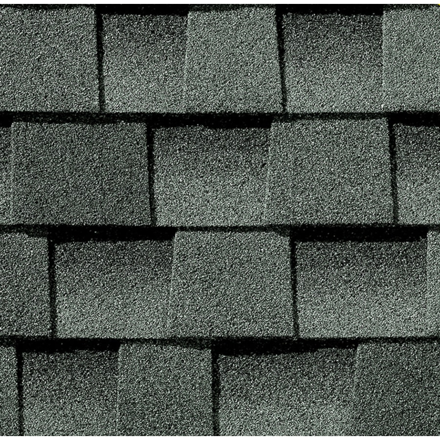 GAF Timberline HD 33.33 Sq Ft Slate Laminated Architectural Roof Shingles