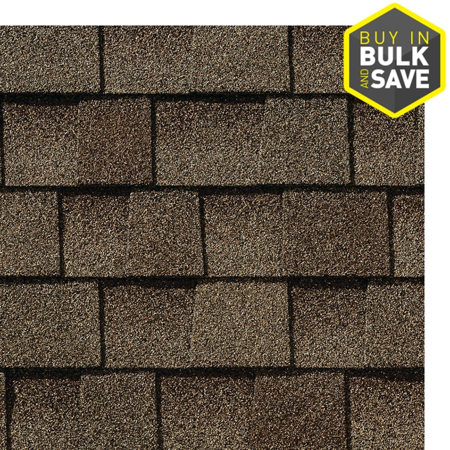 Timberline Timberline Natural Shadow 33.3-sq ft Barkwood Laminated Architectural Roof Shingles