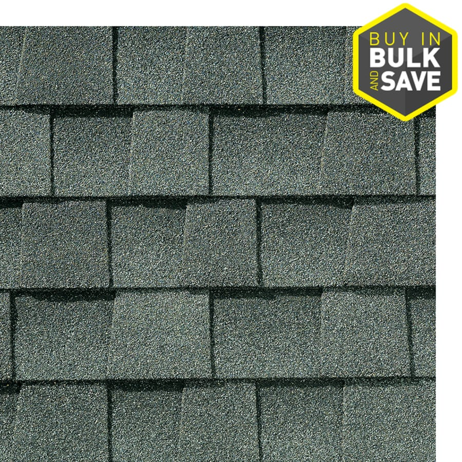 GAF Timberline Natural Shadow 33.3-sq ft Slate Laminated Architectural Roof Shingles
