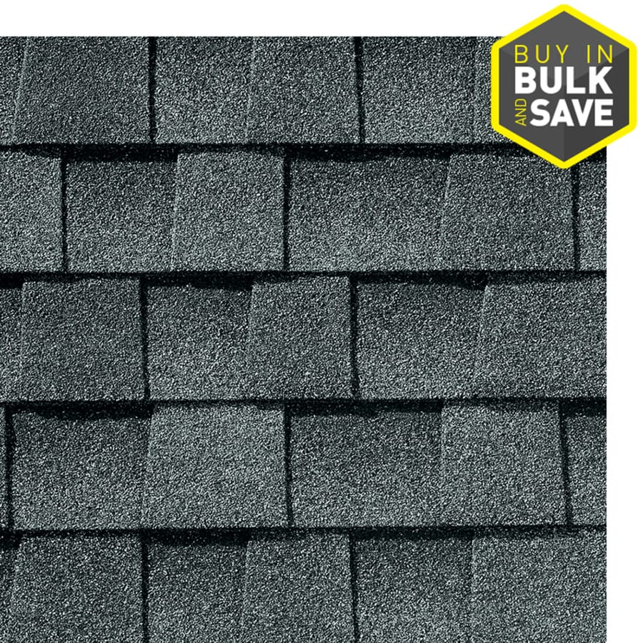 GAF Timberline Natural Shadow 33.3-sq ft Pewter Gray Laminated Architectural Roof Shingles