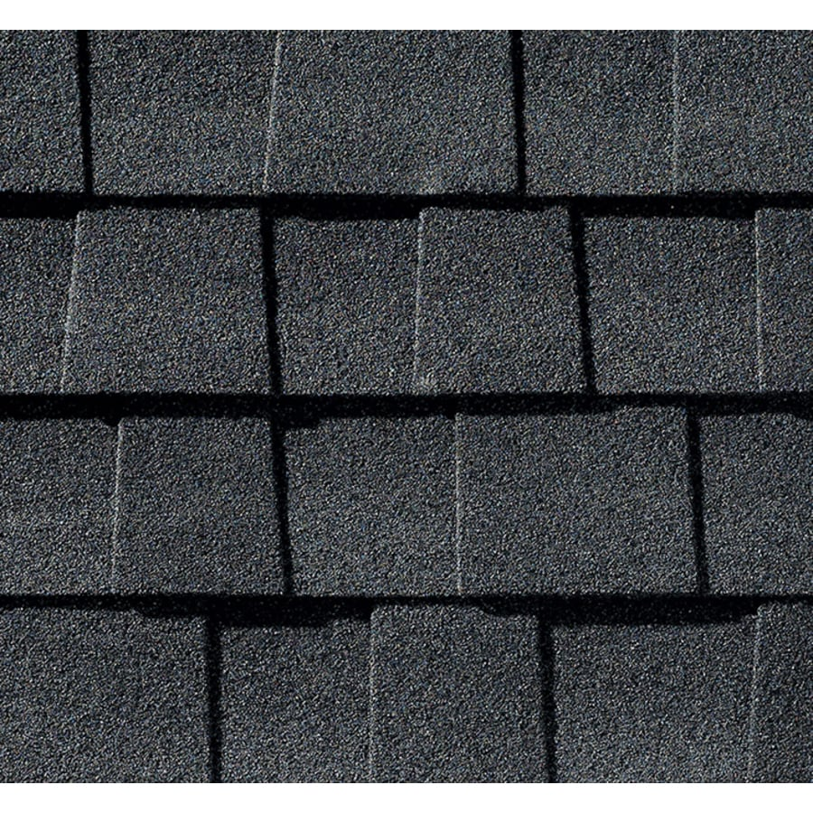 gaf timberline natural shadow 333 sq ft charcoal laminated architectural roof shingles - Roof Shingles Lowes