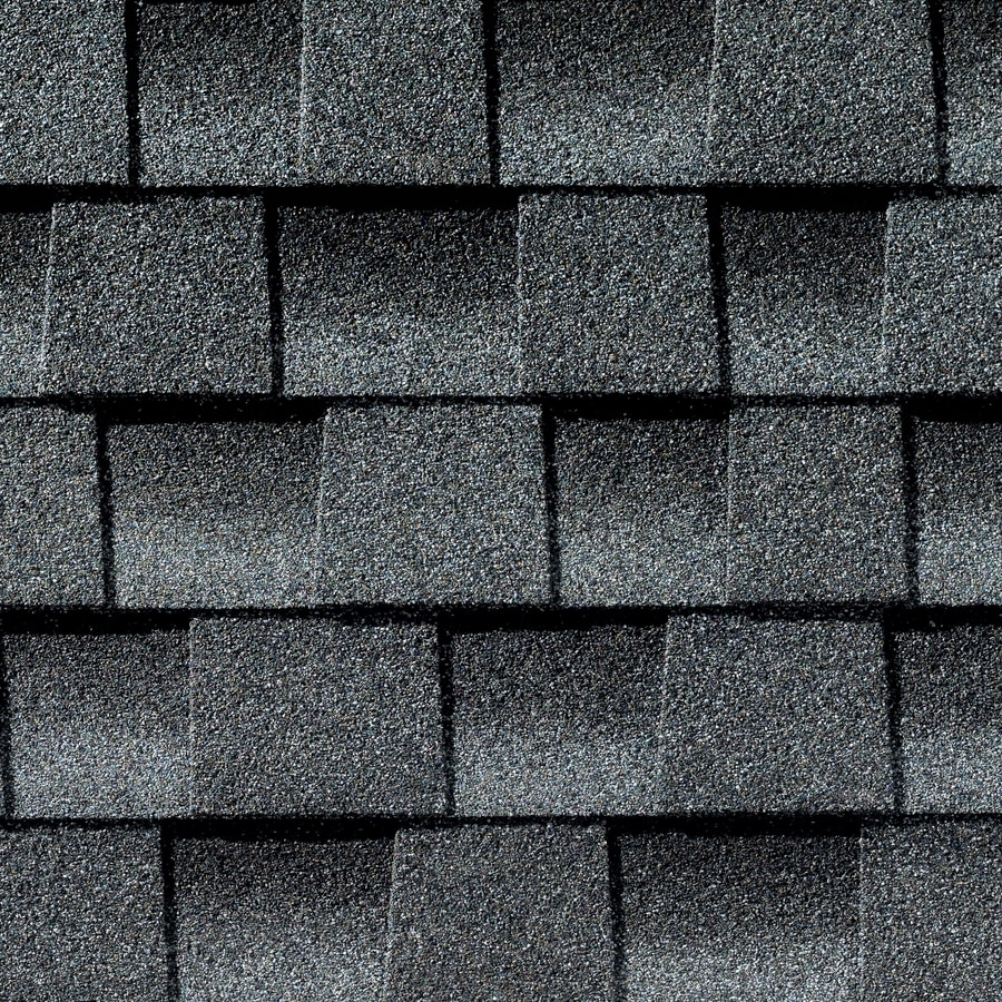 GAF Timberline Ultra Hd 25-sq ft Pewter Gray Laminated Architectural Roof Shingles