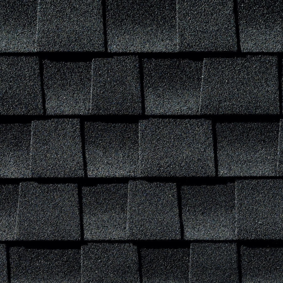 GAF Timberline Ultra HD 25-sq ft Charcoal Laminated Architectural Roof Shingles