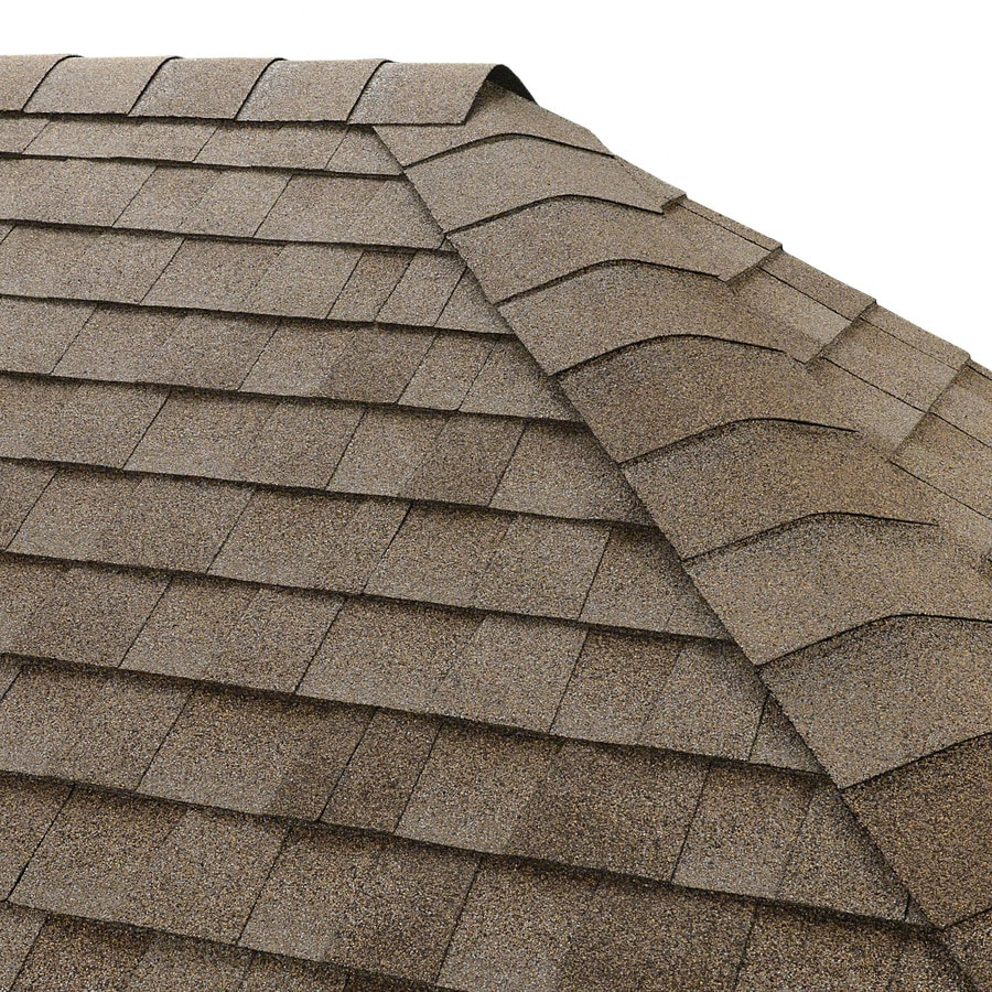 gaf seal a ridge 25 lin ft driftwood hip and ridge roof shingles - Roof Shingles Lowes
