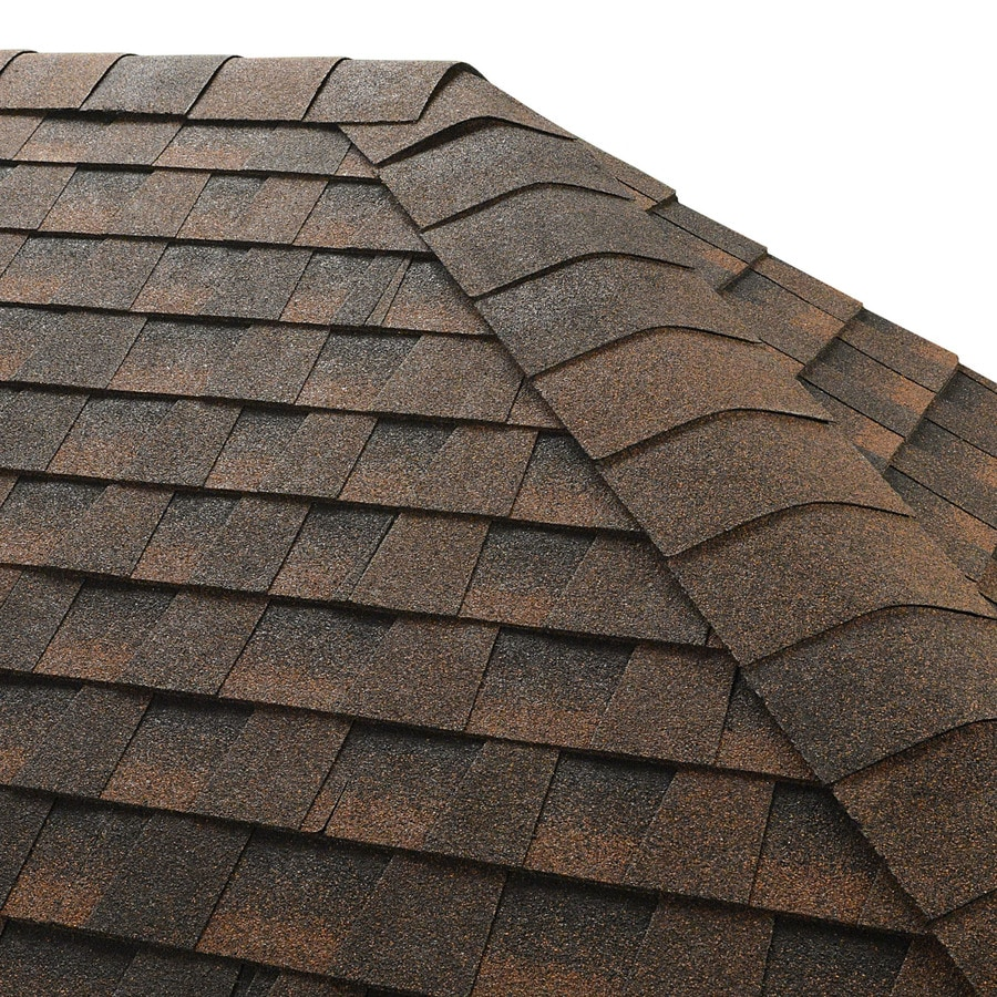 GAF Seal-A-Ridge 25-lin ft Hickory Hip and Ridge Roof Shingles