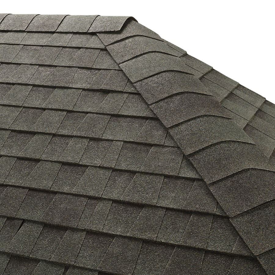 GAF Seal-A-Ridge 25-lin ft Hunter Green Hip and Ridge Roof Shingles