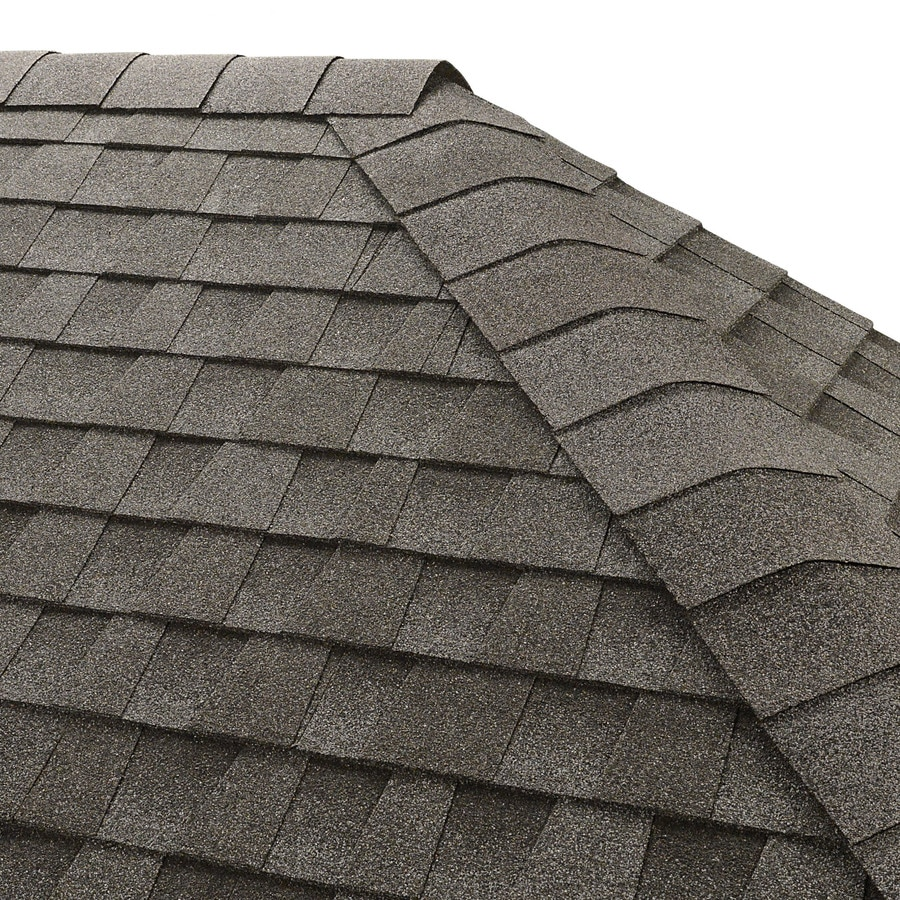 GAF Seal A Ridge 25-lin ft Pewter Gray Hip and Ridge Roof Shingles