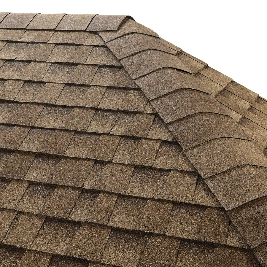 GAF Seal A Ridge 25-lin ft Shakewood Hip and Ridge Roof Shingles