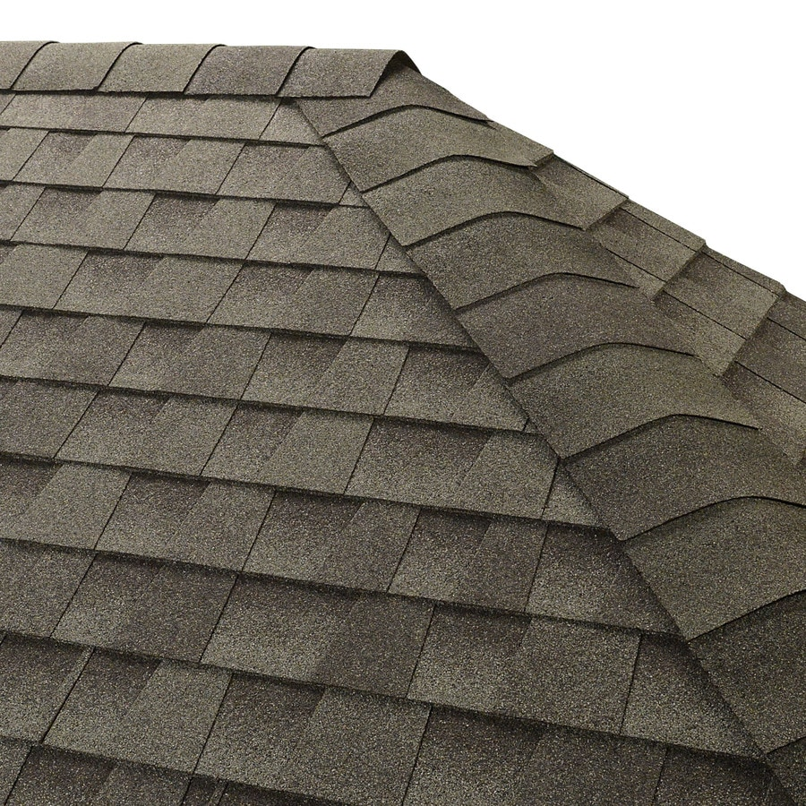 GAF Seal-A-Ridge 25-lin ft Slate Hip and Ridge Roof Shingles