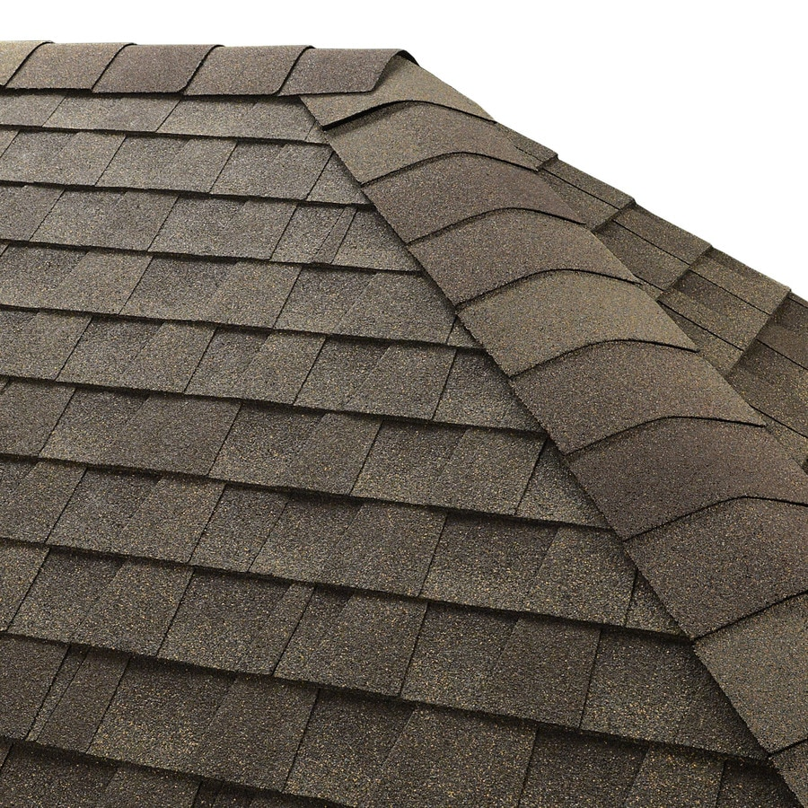 GAF Seal-A-Ridge 25 Na-Lin Ft Weathered Wood Hip & Ridge 0-Tab Roof Shingles