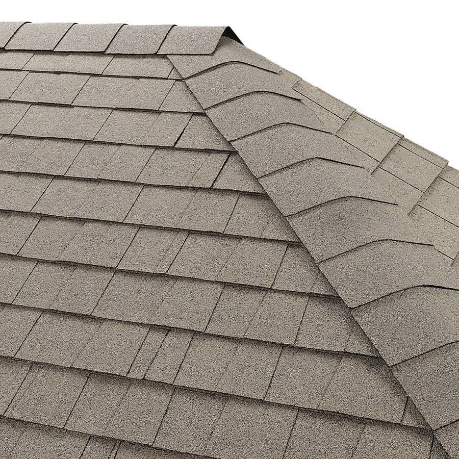GAF Seal-A-Ridge 25-lin ft White Hip and Ridge Roof Shingles