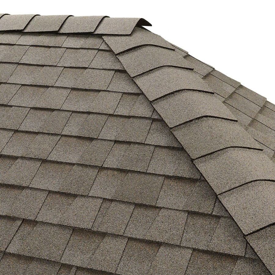 Shop Gaf Timbertex 20 Lin Ft Fox Hollow Gray Laminated Hip