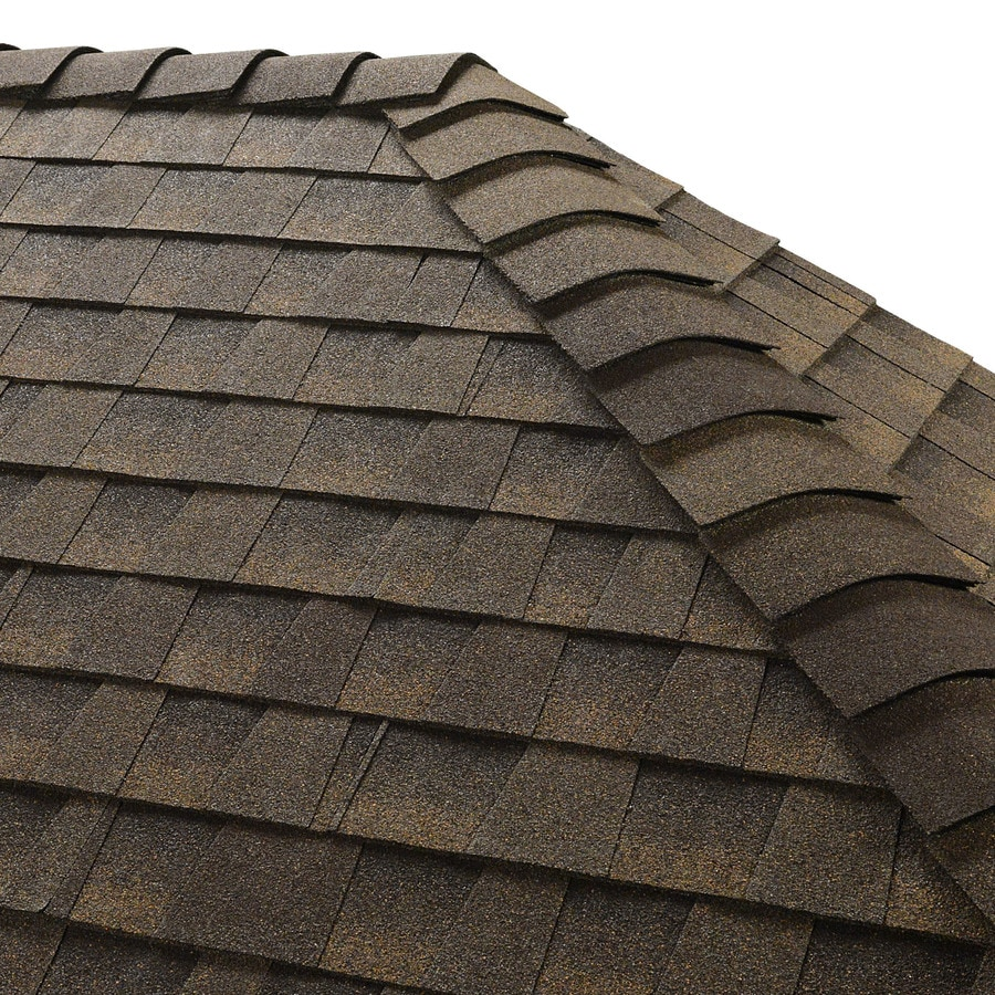GAF Z Ridge 33-lin ft Z Ridge Barkwood Hip and Ridge Roof Shingles