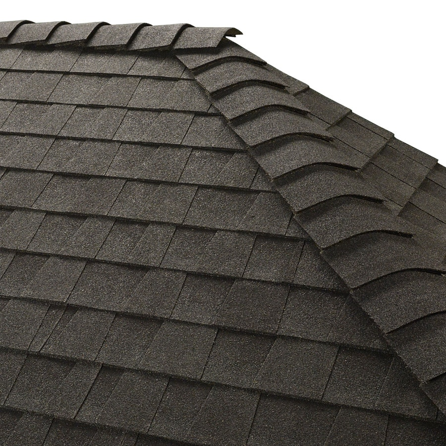 GAF Z Ridge 33-lin ft Z Ridge Charcoal Hip and Ridge Roof Shingles