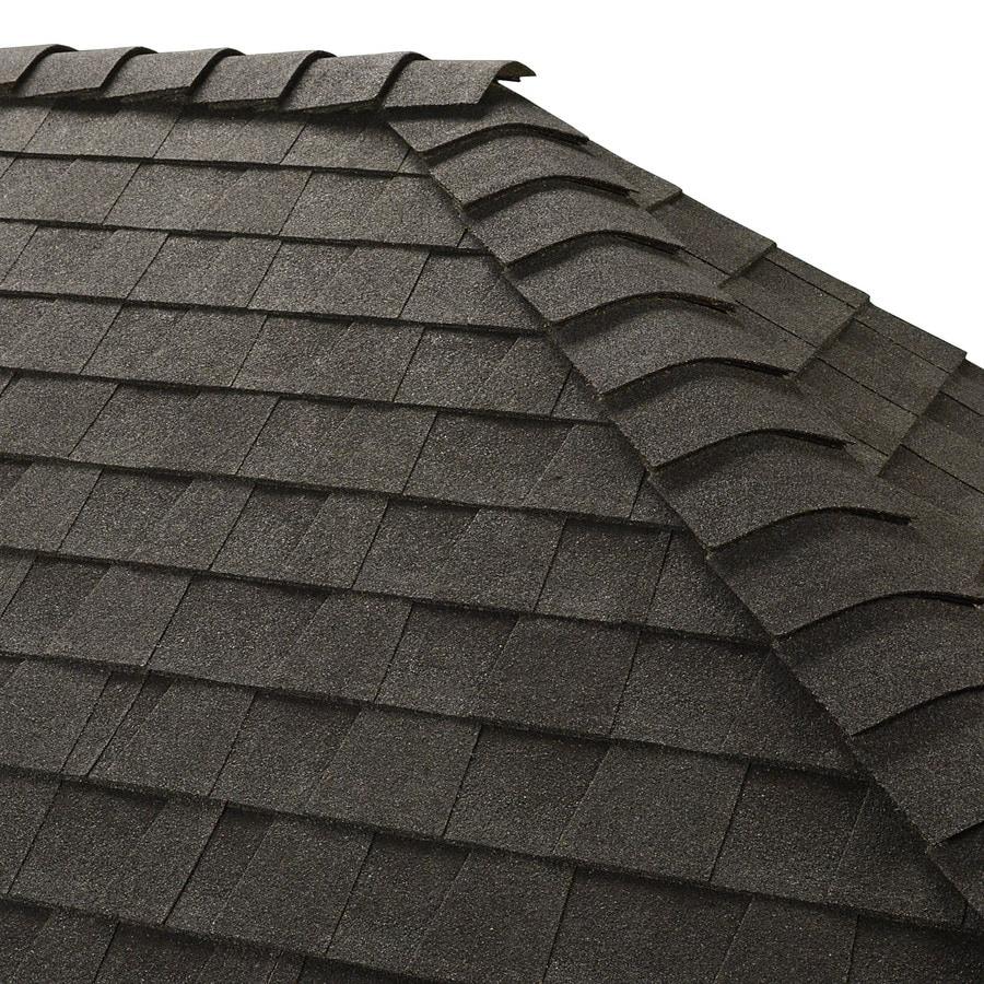 GAF Z Ridge 33-lin ft Charcoal Hip and Ridge Roof Shingles