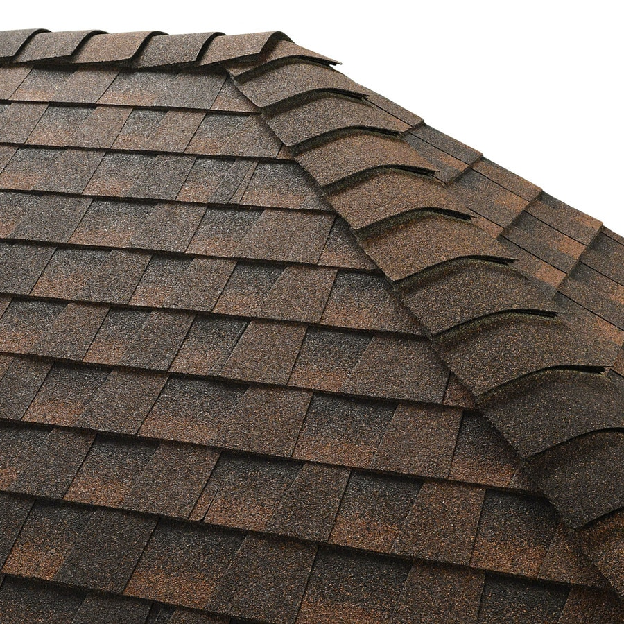GAF Z Ridge 33-lin ft Hickory Hip and Ridge Roof Shingles