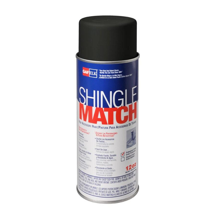 GAF Black Outdoor Spray Paint (Actual Net Contents:-oz)