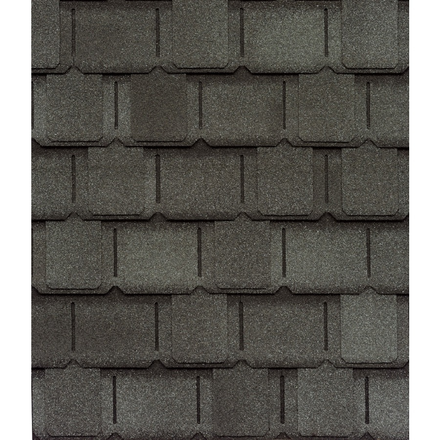 GAF Camelot II 25-sq ft Antique Slate Laminated Architectural Roof Shingles