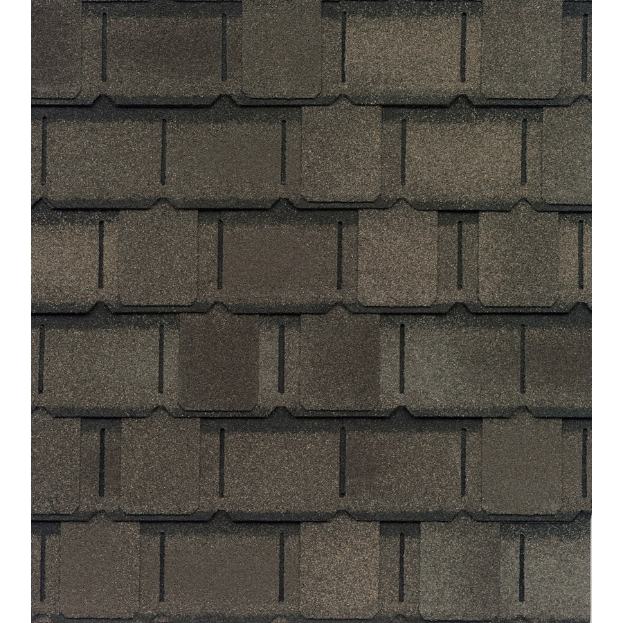 GAF Camelot 25-sq ft Weathered Wood Laminated Architectural Roof Shingles