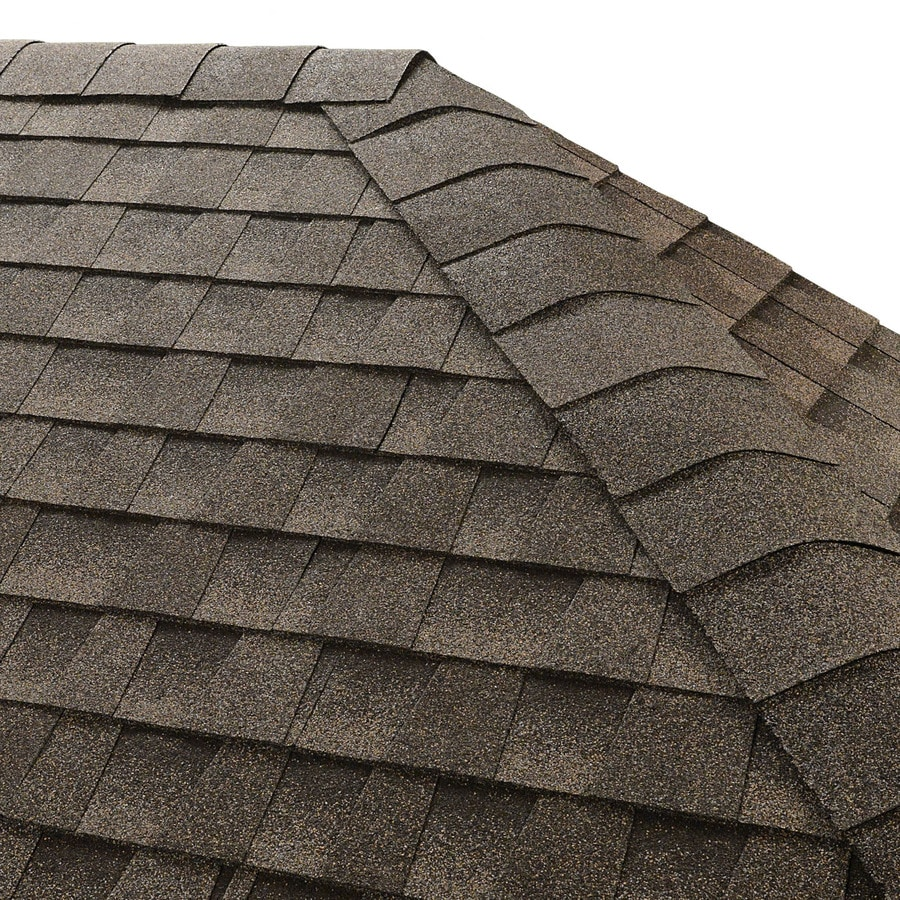 GAF Seal-A-Ridge 25 Na-Lin Ft Mission Brown Hip & Ridge 0-Tab Roof Shingles
