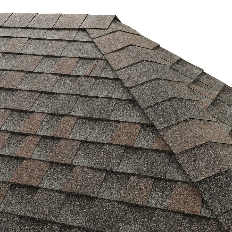 GAF Seal A Ridge 25-lin ft Williamsburg Slate Hip and Ridge Roof Shingles