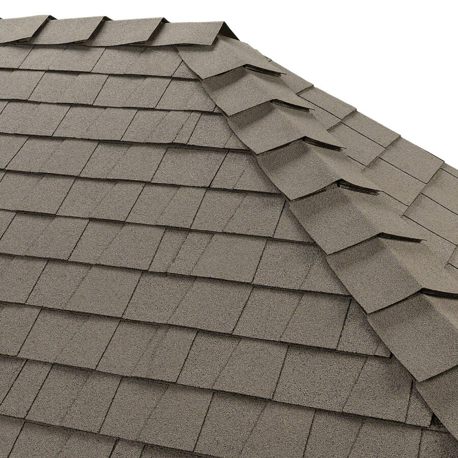 GAF Ridglass 31-lin ft Arctic White Hip and Ridge Roof Shingles