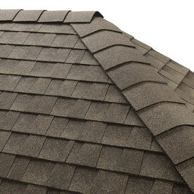 GAF Timbertex 20 Lin Ft Weathered Wood Laminated Hip And Ridge Roof Shingles