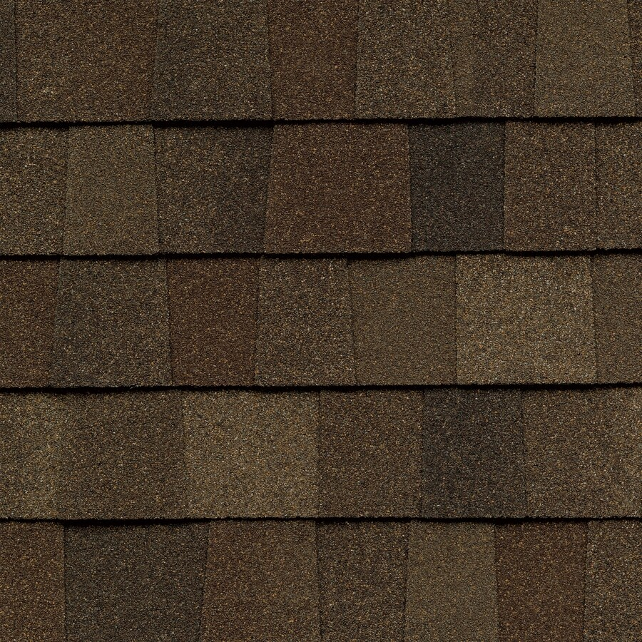 GAF Timberline American Harvest 33.33-sq ft Saddlewood Ranch Laminated Architectural Roof Shingles