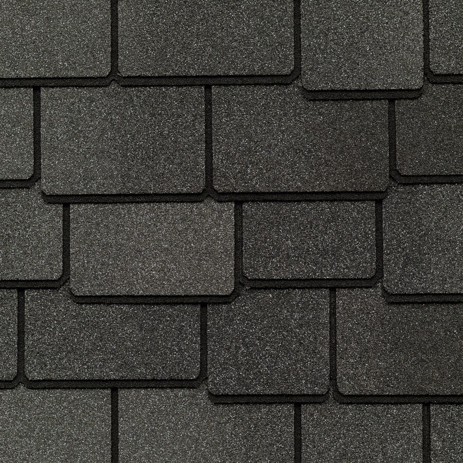 GAF Woodland 25-sq ft Gray Laminated Architectural Roof Shingles