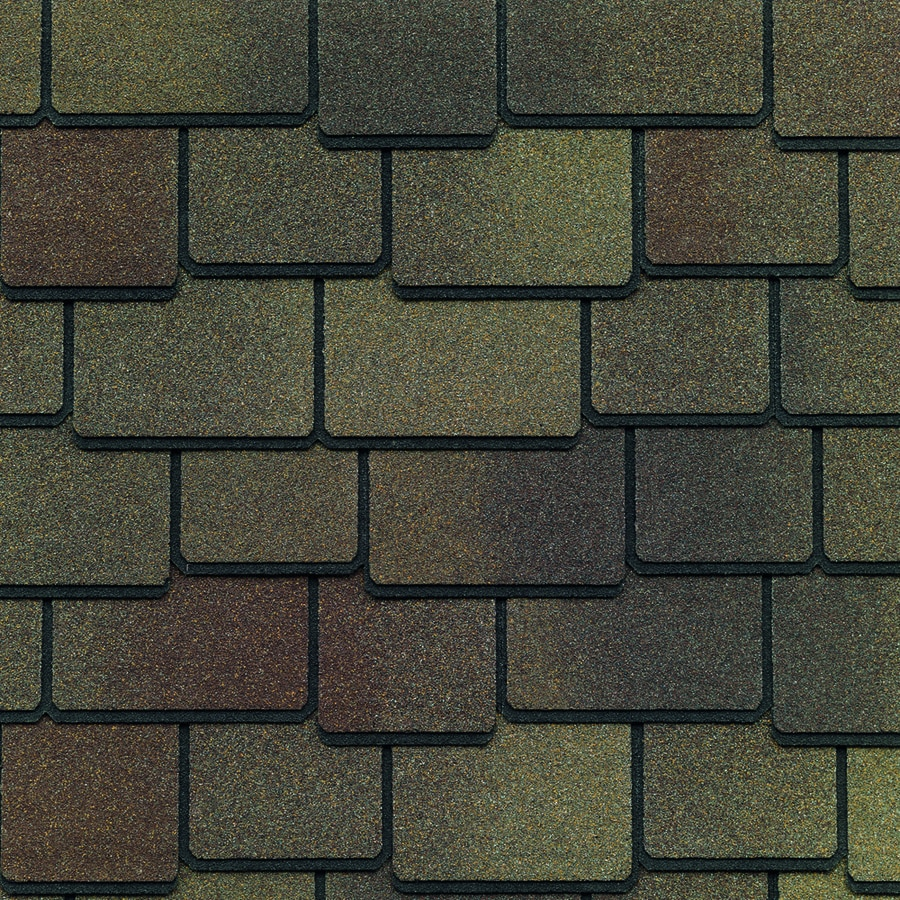 GAF Woodland 25-sq ft Tuscan Sunset Laminated Architectural Roof Shingles