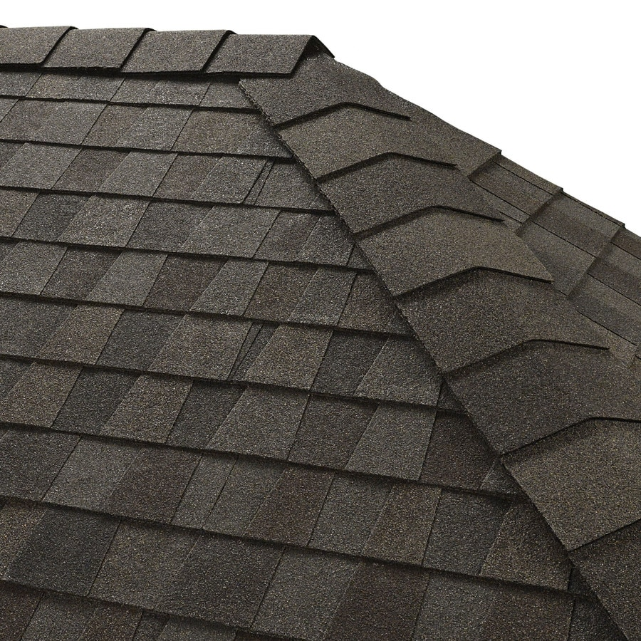 GAF Timbertex 20-lin ft Appalachian Sky Laminated Hip and Ridge Roof Shingles