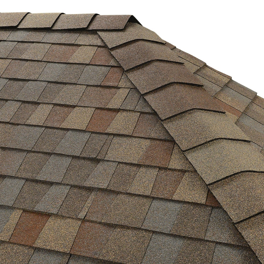 GAF Timbertex 20-lin ft Golden Harvest Laminated Hip and Ridge Roof Shingles