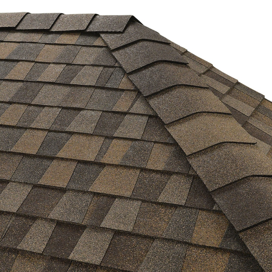 Gaf Timbertex 20 Lin Ft Saddlewood Ranch Laminated Hip And Ridge Roof Shingles In The Roof Shingles Department At Lowes Com