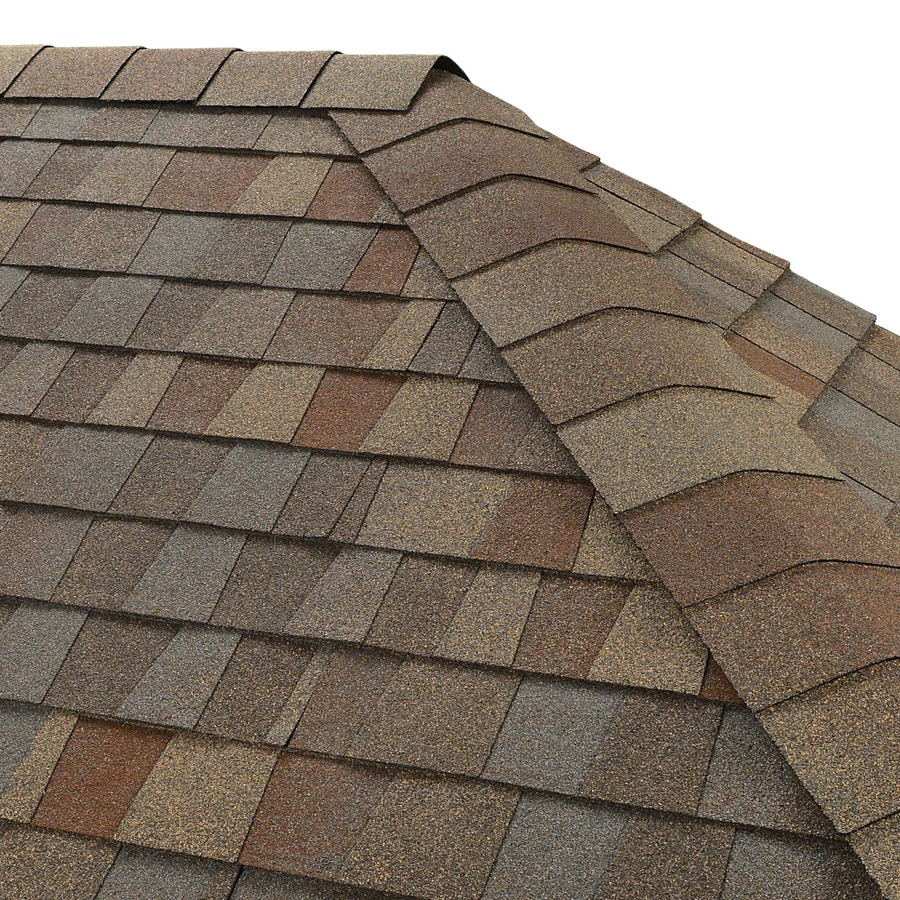GAF Seal-A-Ridge 25-lin ft Golden Harvest Hip and Ridge Roof Shingles