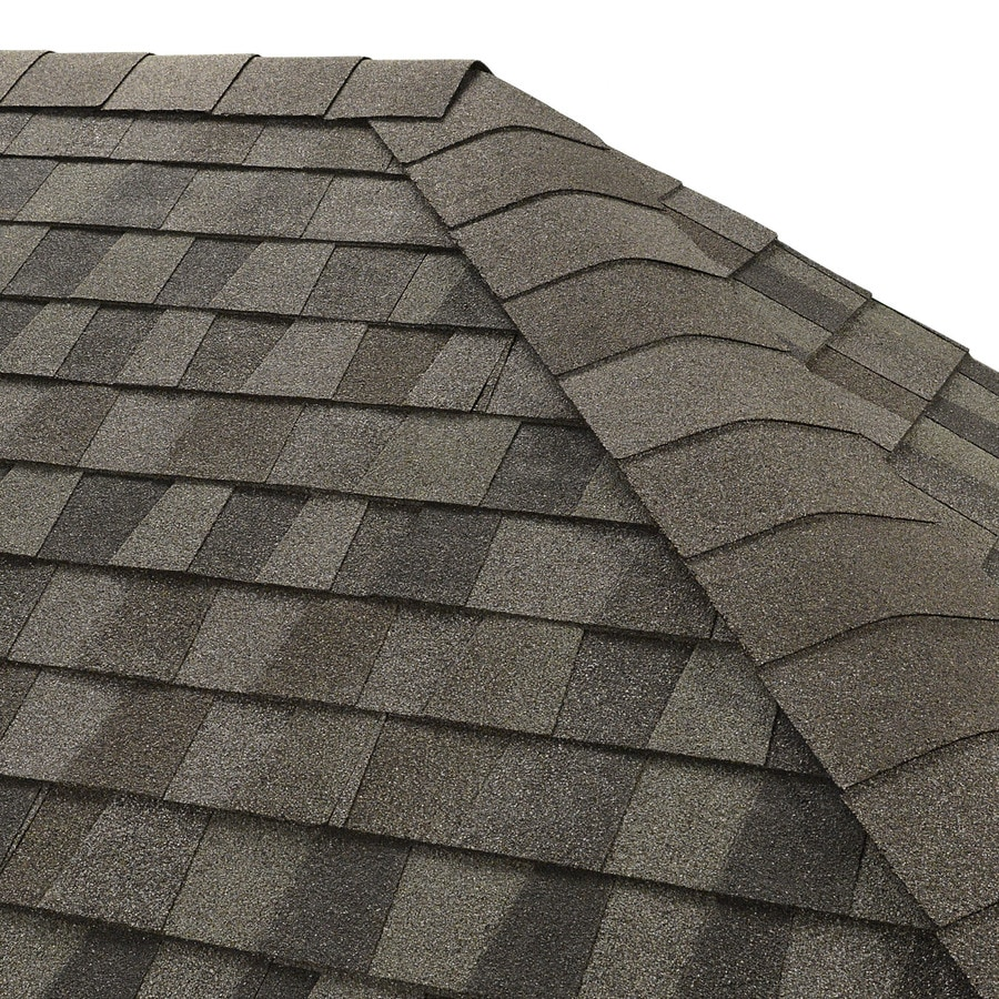 Shop gaf seal a ridge 25 lin ft nantucket morning hip and for Nantucket shingles
