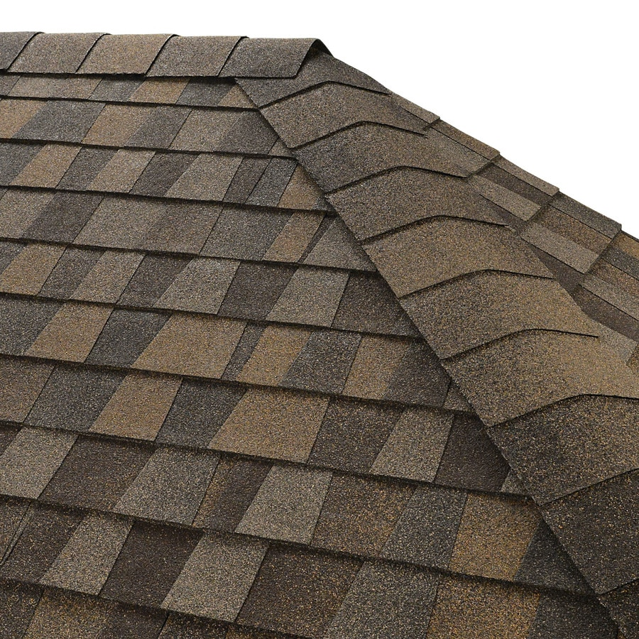 GAF Seal A Ridge 25-lin ft Saddlewood Ranch Hip and Ridge Roof Shingles