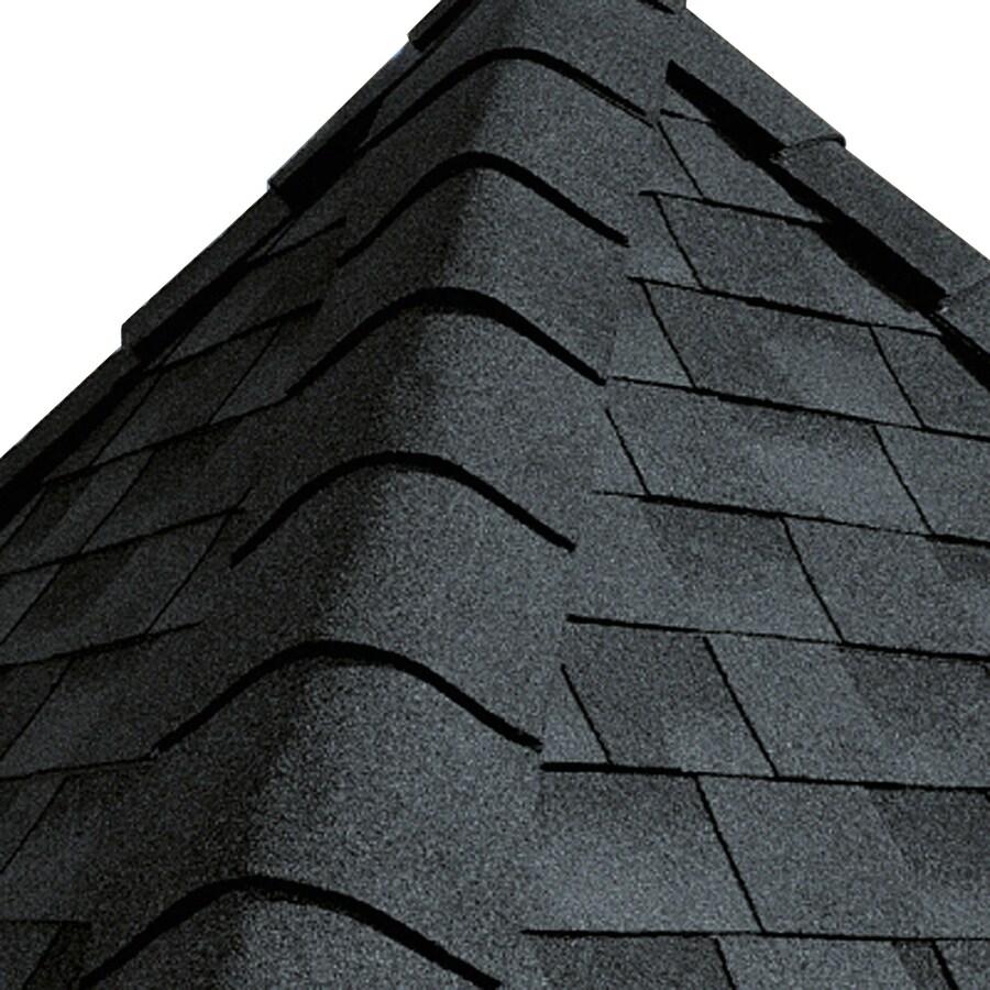 GAF Timbertex 20-lin ft Timbertex Amalfi Gray Laminated Hip and Ridge Roof Shingles