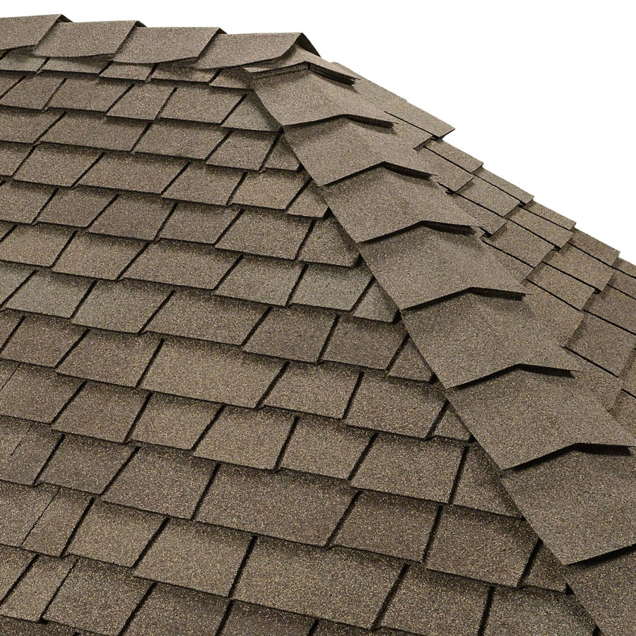 GAF Ridglass 31-lin ft Cedarwood Abbey Hip and Ridge Roof Shingles
