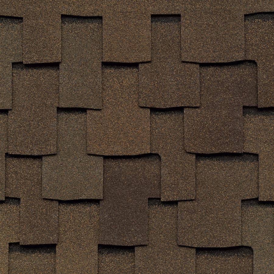 GAF Grand Sequoia IR 20-sq ft Adobe Sunset Laminated Architectural Roof Shingles
