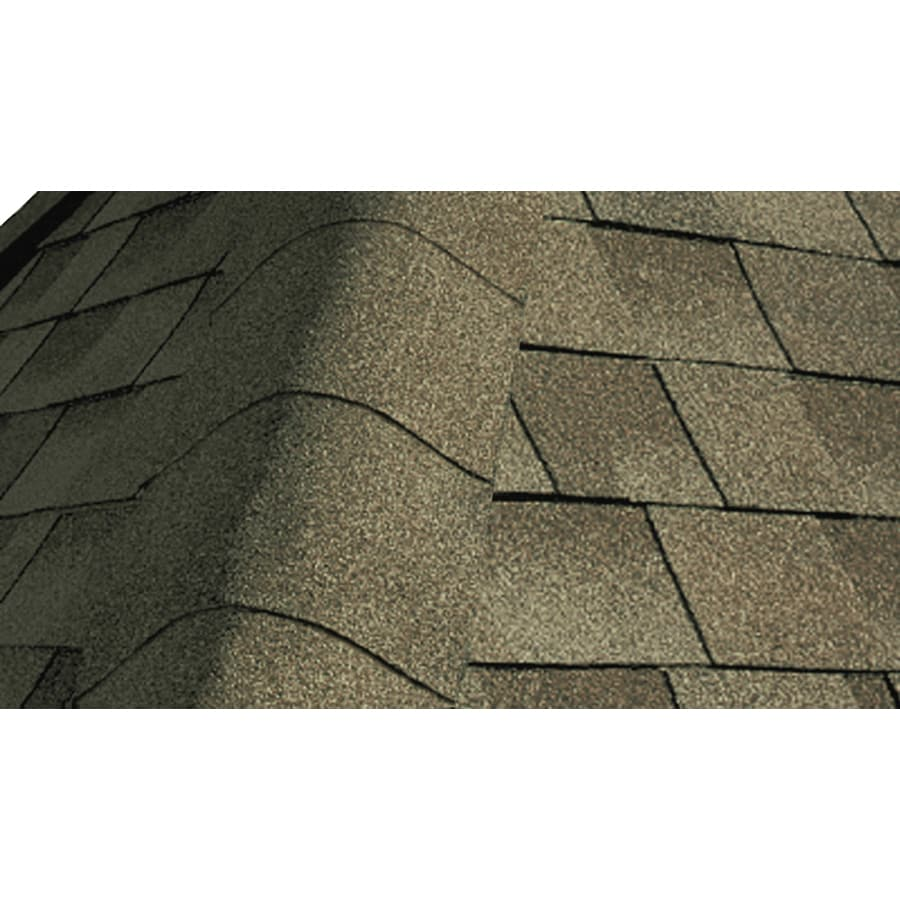 GAF Seal A Ridge 25-lin ft Seal A Ridge Cool Weathered Wood Hip and Ridge Roof Shingles