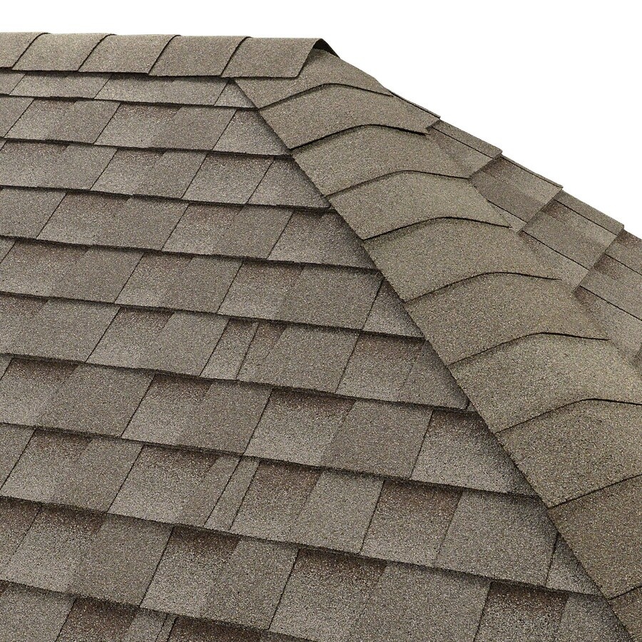GAF Seal-A-Ridge 25-lin ft Cool Antique Slate Hip and Ridge Roof Shingles