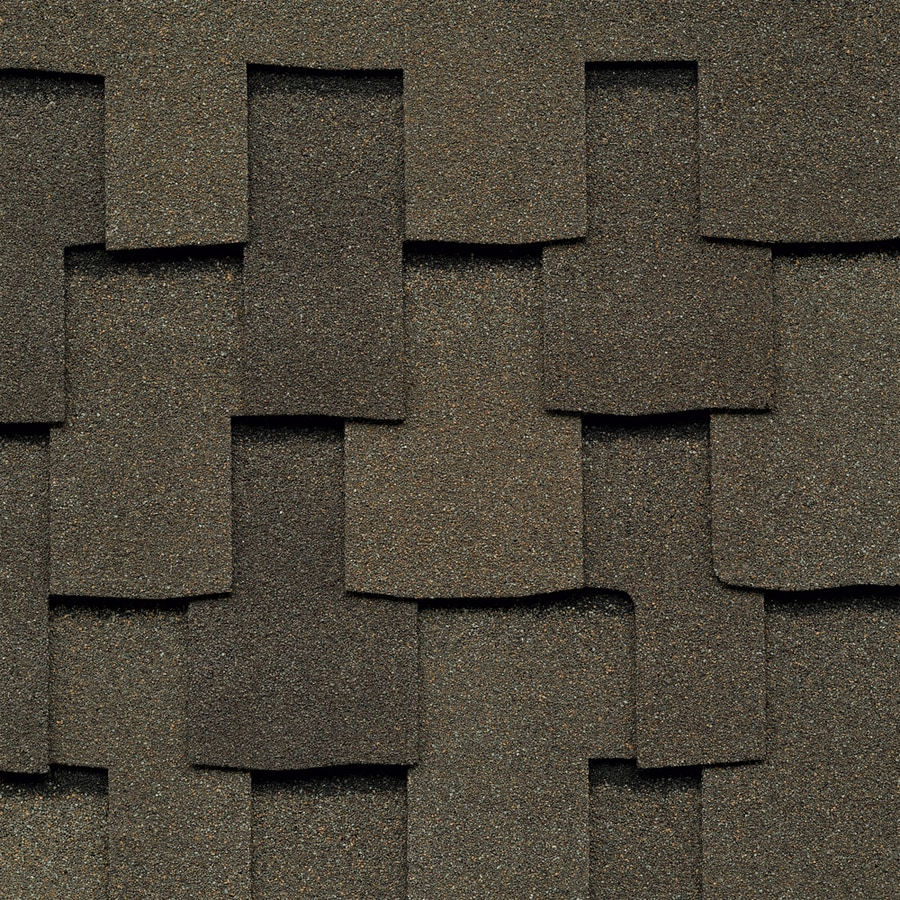 GAF Grand Sequoia IR 20-sq ft Weathered Wood Laminated Architectural Roof Shingles